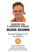 Valerio Colombo candidato sindaco di Milano
